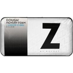 Dough Memory Foam with Liquid Z-Gel Packet Queen Size Pillow