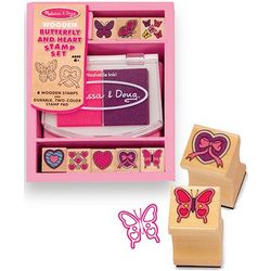 Butterfly and Hearts Stamp Sets