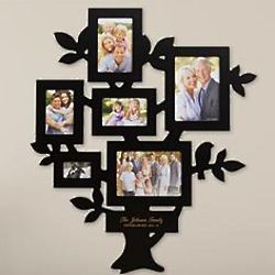 Personalized Family Tree Frame Wall Hanging
