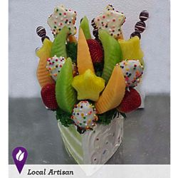 Sweet Birthday Wish Fruit Bouquet
