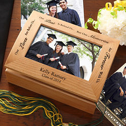 Personalized Graduation Memories Photo Keepsake Box