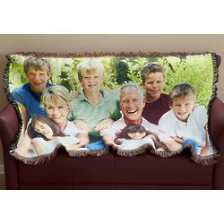Personalized Custom Photo Throw