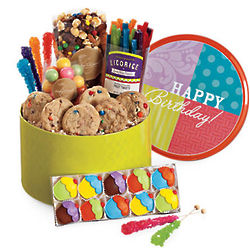 Birthday Treat Party Tin