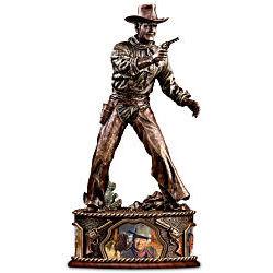 John Wayne Taming The West Sculpture