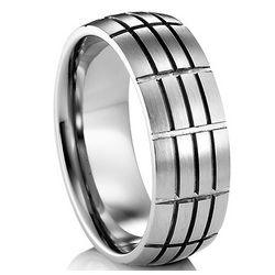 Remy Titanium Wedding Band