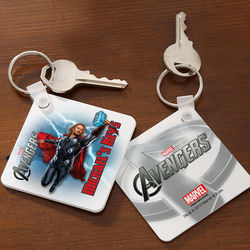 Personalized Avengers Key Ring