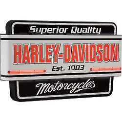 Superior Quality Harley-Davidson Motorcycle Neon Sign