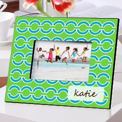 Vibrant Colors Personalized Picture Frames