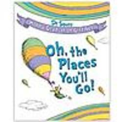 Dr. Seuss Oh the Places You'll Go! Gift Set