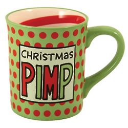 Christmas Pimp Coffee Mug