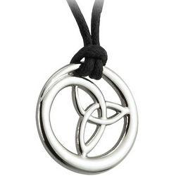 Pewter Circle Trinity Pendant