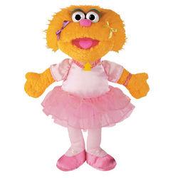 Sesame Street Zoe Ballerina Plush Toy