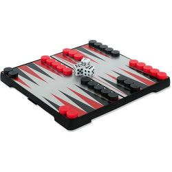 Outside or Inside Magnetic Backgammon Game