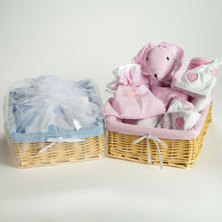 New Baby 12-Piece Deluxe Gift Basket