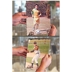 Magically Changing Sports Photo 8x10