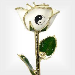 """11"""" Yin-Yang Rose"""