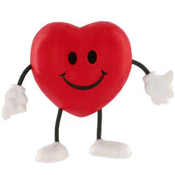 Red Heart Dude Stress Toy