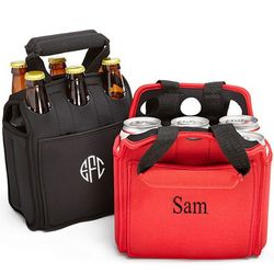Personalized Six Pack Carrier