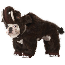 Wooly Mammoth Dog Costume