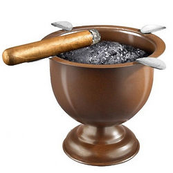 Tall Brown Stinky Cigar Ashtray