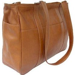 Medium Leather Shopping Bag