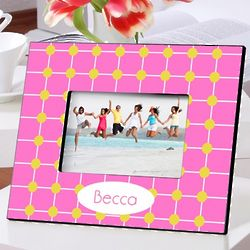 Personalized Pin Point Picture Frame
