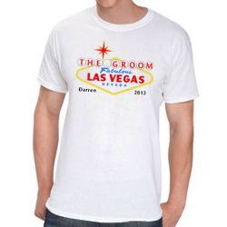 Personalized Las Vegas Groom T-Shirt