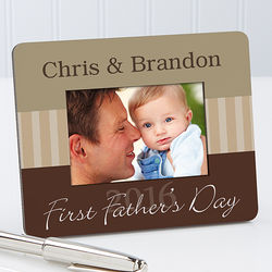 Personalized Daddy and Me Mini Picture Frame