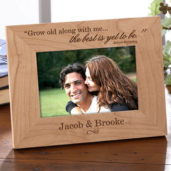 Best is Yet to Be Personalized Frame