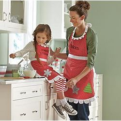 Personalized Whimsical Sugar Cookie Apron