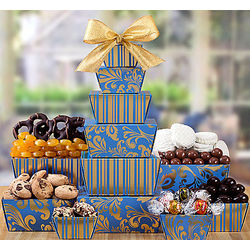 Chocolate and Sweet Treats Gift Tower