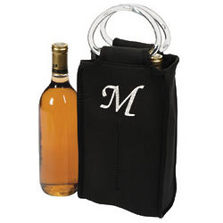 Personalized Two-Bottle Wine Tote
