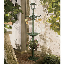 4-In-1 Solar Bird Spa and Feeder