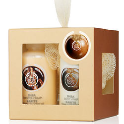 Shea Mini Shower and Moisture Gift Set