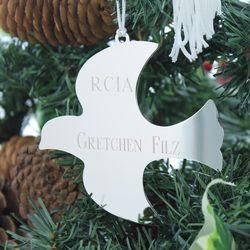 Personalized Dove Rcia Ornament