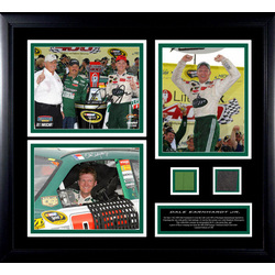 Dale Earnhardt Jr. Framed Autographed 8x10 Photograph Collage