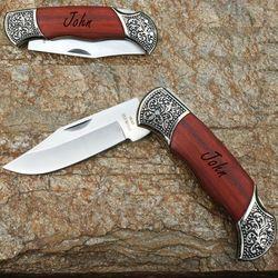 Deco-Grip Lock Blade Hunting Knife