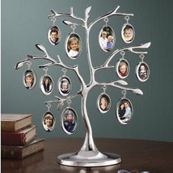 Silver Branches Family Tree Frame Findgiftcom