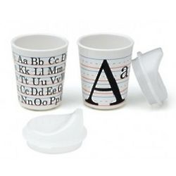 Vintage Alphabet Sippy Cups