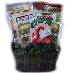 Nut Free Healthy Gift Basket