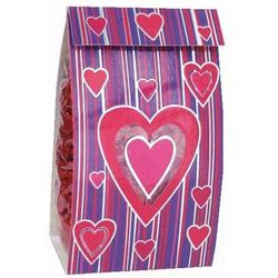 Full of Hearts Cherry Flavored Candies Favor Bag