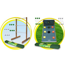Ladder Ball & Bags Combo Lawn Games