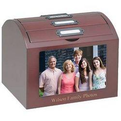 Personalized Deluxe Photo Treasure Box