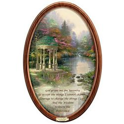 Thomas Kinkade Garden of Prayer Masterpiece