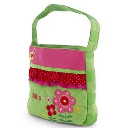 Quilted Flower Purse