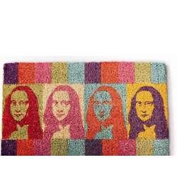 Mona Lisa Hand-Woven Coir Doormat