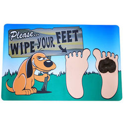 Wipe Your Feet Doormat