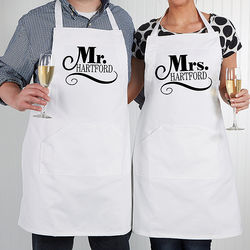 Happy Couple Personalized Apron