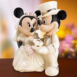 minnies dream wedding cake topper