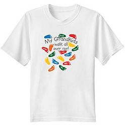 Personalized Walk All Over Me T-shirts